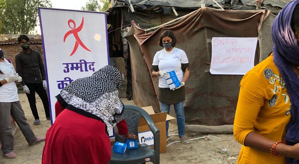 Collaborative Efforts of Contego Humanitas Foundation, Ummid ki Udaan & Project Baala