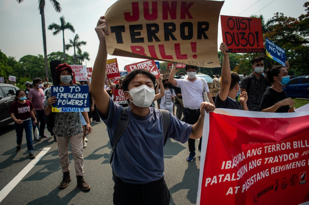 Philippines Anti Terrorism Bill